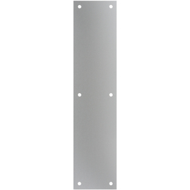 Gatehouse 3.5-in x 15-in Aluminum Aluminum Entry Door Push Plate
