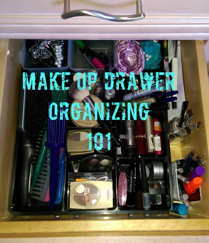 Make Up Drawer Organizing 101