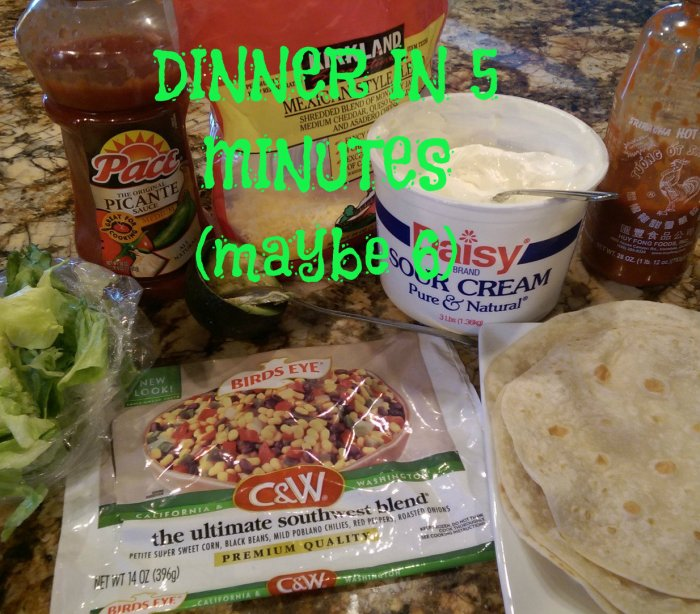 Dinner in 5