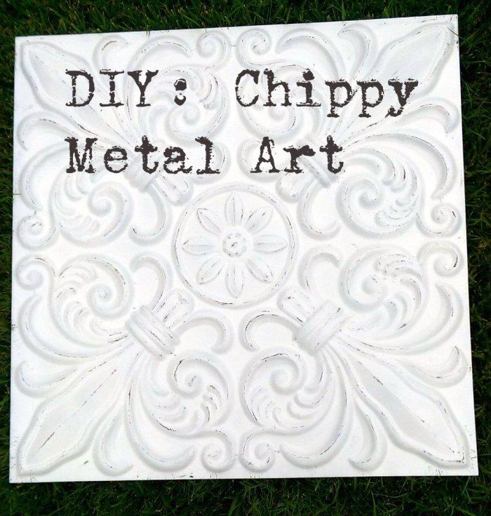 Chippy Metal Art