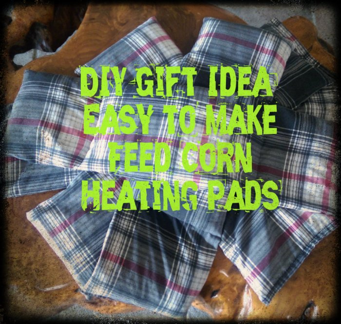 DIY Corn Heating Pads