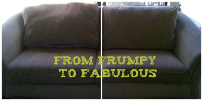 Couch Cushions: Frumpy to Fab | armchairdecoratorblog