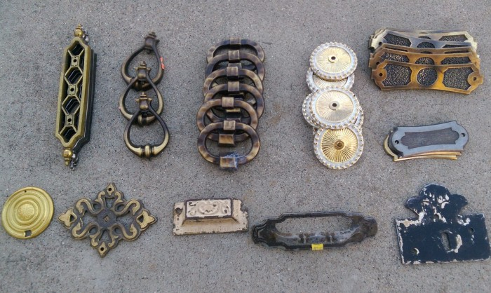 Various furniture hardware