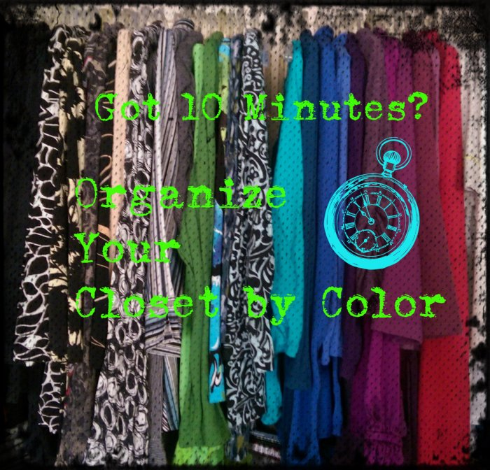 Cover Pic Organize Your Closet By Color