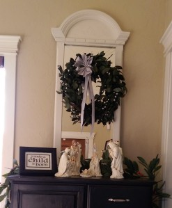 Christmas decor nativity