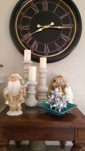 Christmas decor father christmas