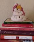 Christmas books snowman