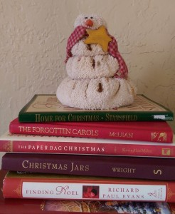 Christmas books snowman