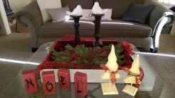 Christmas tabletop decor