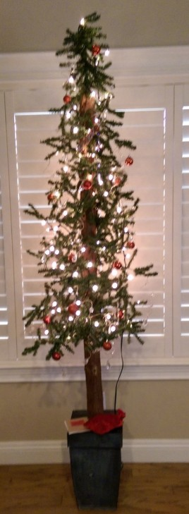 Our crystal and red tree