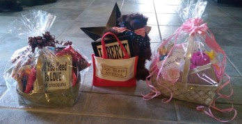 Fundraising gift baskets