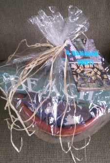 Hawaiian Gift Basket Wrapped