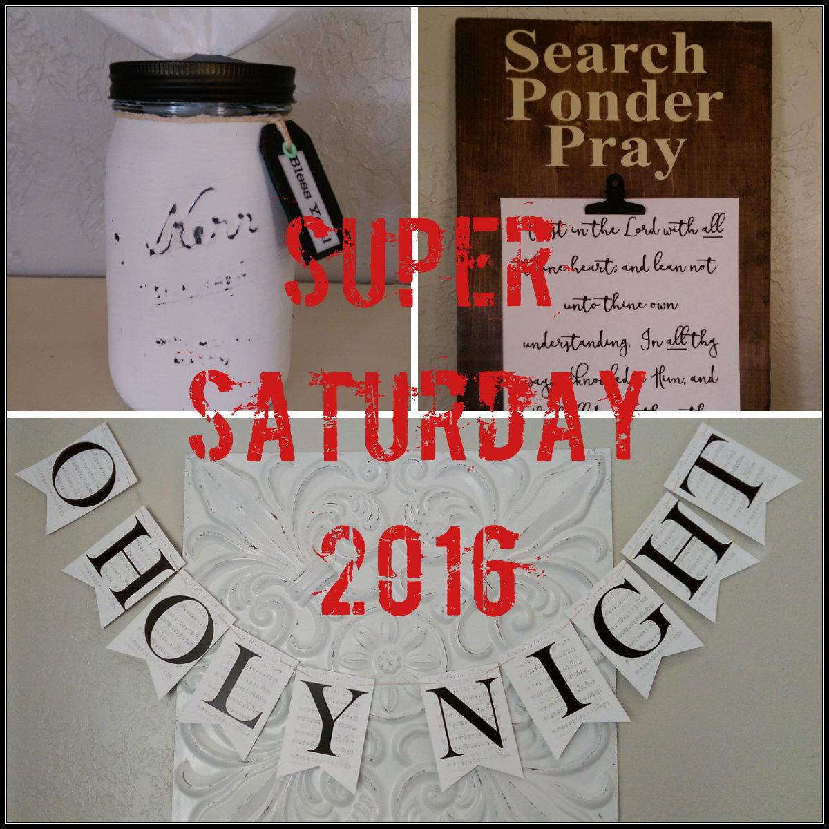 super saturday crafts 2016