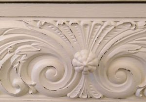 Distressed Painted Furniture Detail
