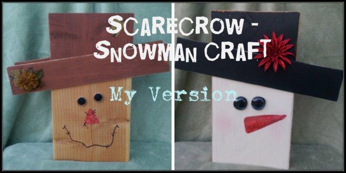 scarecrow-snowman